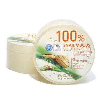 [FREE SKIN CARE GIFT] 3W Clinic 100% Snail Mucus Soothing Gel 300g (100% ORIGINAL)