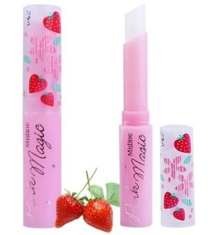 [FREE SKIN CARE GIFT] Mistine Pink Magic Strawberry Lip Balm