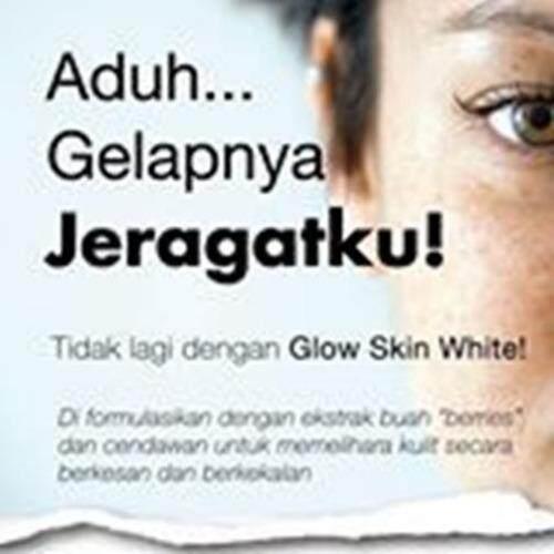 Glow Skin White Cream,Cleanser,Toner