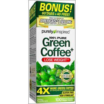 Harga Green Coffee 100% Pure Purely Inspired 100 Tablets