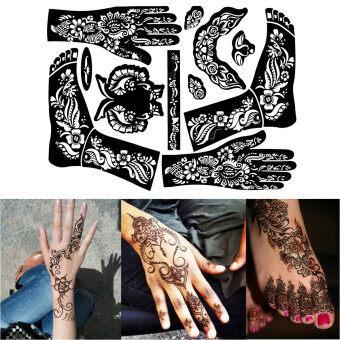 Cek Harga Fang Fang Crown Diamond Design Waterproof Temporary Tattoo