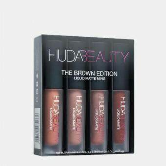 Harga Huda Beauty Liquid Matte - Brown Edition Matte Lipsticks