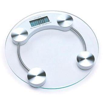Harga Weighing Machine Glass LCD Display Digital Scale Electronics