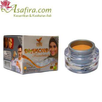 Harga Dherbs Diamond Foundation (Natural)