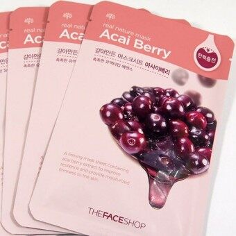 Harga THE FACE SHOP Berry Mask