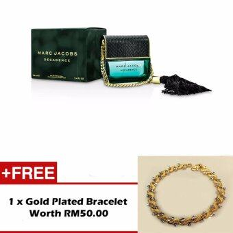 Harga Marc Jacobs DECADENCE EDP 100ML (TESTER) Free Gold Plated Bracelet
