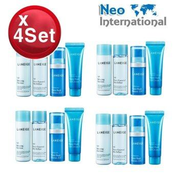 Harga [4 Sets] Laneige Basic Step(Moisture) Trial Kit (4 items) 4 Sets + Free Gift + Bonus Neo-mall Hot SALE
