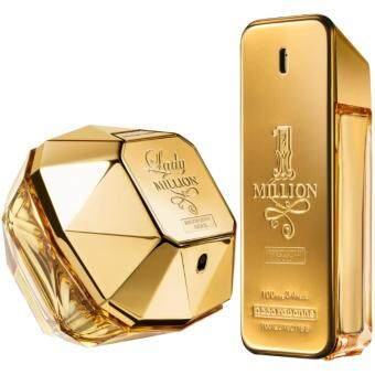 Harga 1 MILLION 100ML & LADY MILLION 50ML COMBO