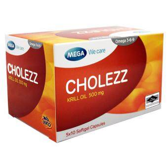 Harga Cholezz Krill Oil 500mg