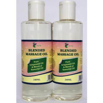Harga CTEM Blended Massage Oil 240ML x 2 Bottles