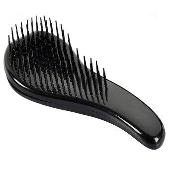 Harga Magic Comb Compact Styler Hair Brush Salon Style (Black)
