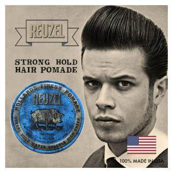 Harga Reuzel Blue Strong Hold Water Soluble High Sheen Hollands Finest Hair Pomade (113g)