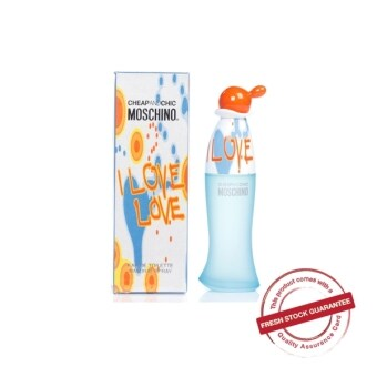 Harga MOSCHINO I LOVE LOVE EDT WOMEN 100ML