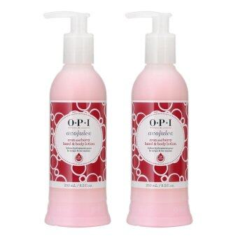 Harga 2 x OPI Avojuice Cran And Berry Juice Hand And Body Lotion 8.5oz, 250ml Cran and Berry