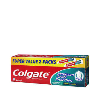 Harga COLGATE Colgate Red Fresh Cool Mint Twin Pack 2X250G