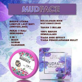 Harga STAY NATURAL MUD FACE