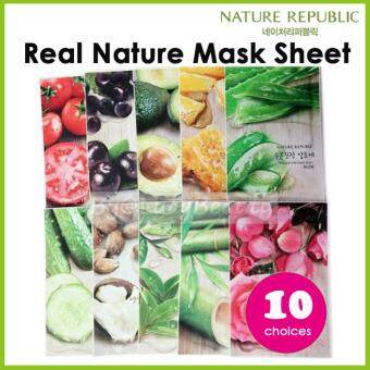 Harga Nature Republic Real Nature Mask Sheet 10 choices (Sent out randomly)