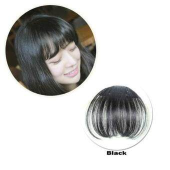 Harga Women Bangs Wig Hair Extension Fringe Hairpieces Hair Clips Front Neat Bang