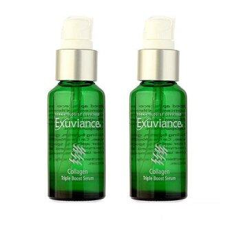 Harga 2 x Exuviance Collagen Triple Boost Serum 1oz, 30ml