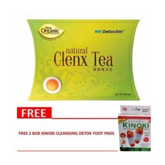 Harga NH Detoxlim Natural Clenx Tea (Detox slimming) 3 g x 10 teabags WITH Extra Gift