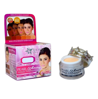 Harga Pearl Whitening Magic Foundation Jamu Jelita