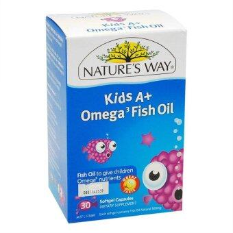 Harga Natures Way Kids A + Omega 3 Fish Oil 30S