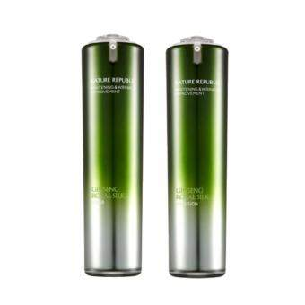 Harga Nature republic Ginseng Royal Silk Toner+Emulsion