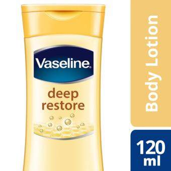 Harga Vaseline Intensive Care Lotion Deep Restore 120 ml
