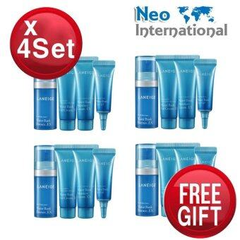 Harga [4 Sets] Laneige Water Bank Trial Kit (4 items) 4 Sets + Free Gift + Bonus Neo-mall Hot SALE
