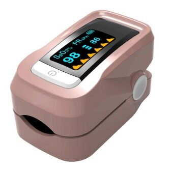 Harga Fingertip Pulse Oximeters Health Monitors Tests (Tan)