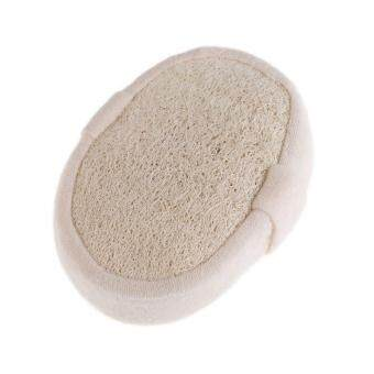 Harga New Natural Loofah Bath Shower Body Washing Sponge Scrubber Exfoliator Pad