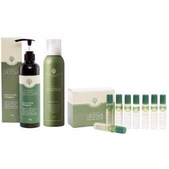 Harga LEGITIME DEEP CLEANSING SHAMPOO 300ML + DEEP CLEANSING SCALP OIL 10ML x 8 + SCALP AIR TONIC 200ML