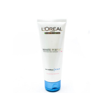 Harga L'OREAL White Perfect Scrub 100ml