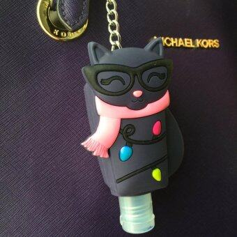 Harga Smarty Cat Pocketbac Holder (Cute Case for Lotion/Sanitiser/Cream/ Bag Accessories)