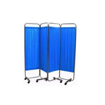 Harga HOPKIN WARD SCREEN 4 FOLD WITH BLUE CURTAIN