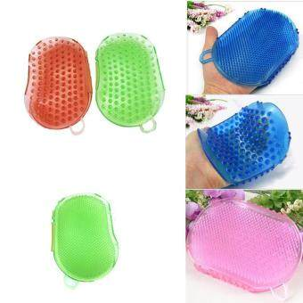 Harga Body Massager Bath Brush Massage Glove Silicon Scrub Slimming Multifunctional