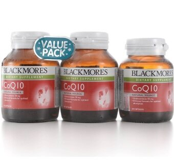 Harga Blackmores CoQ10 50mg 60's - 2 Bottles + 30's