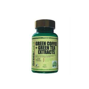Harga GreenCof-T Green Coffee + Green tea Extracts