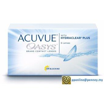Harga Acuvue - Oasys 2-WEEK with Hydraclear Plus Contact Lenses (6 lenses/box)
