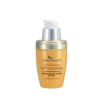 Harga PURE BEAUTY Youth Restore Lift & Nourish Moisture Day Cream 50ml