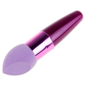 Harga New Makeup Power Puff Sponge Blender Blending Foundation Puff Flawless Powder Smooth Beauty Purple