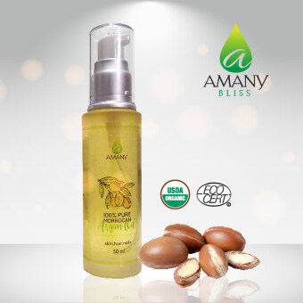 Harga AMANY Bliss 100% Pure Moroccan Argan Oil 50ml