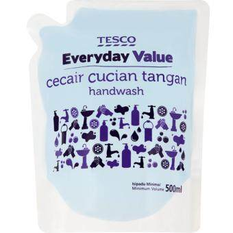 Harga TESCO EVERYDAY VALUE HAND WASH REFILL (500ML)