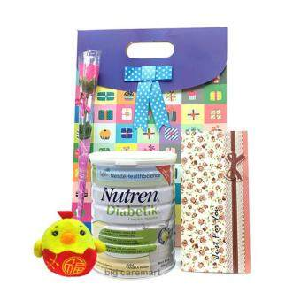 Harga Mother's Day Gift Nestle Nutren Diabetic & Rose & Lucky Chicken