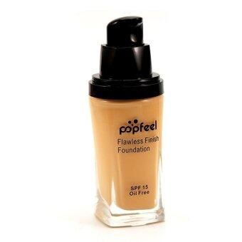 Harga POPFEEL MakeUp Perfection Foundation Full Coverage Flawless Matte Finish FF03