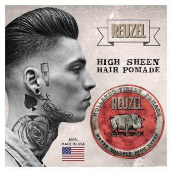 Harga Reuzel Red Water Soluble High Sheen Hollands Finest Hair Pomade (113g)