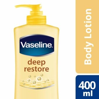 Harga Vaseline Intensive Care Lotion Deep Restore 400 ml