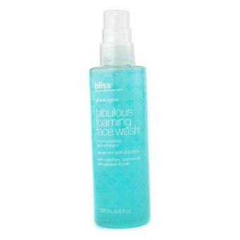 Harga Bliss Fabulous Foaming Face Wash 197ml/6.6oz