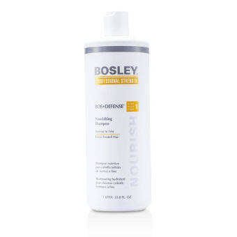Harga Bosley Professional Strength Bos Defense Nourishing Shampoo (For Normal to Fine Color-Treated Hair) 1000ml/33.8oz