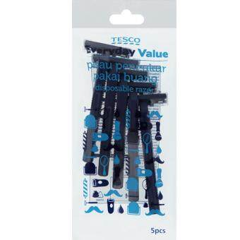 Harga TESCO EVERYDAY VALUE MENS RAZOR (5PCS)